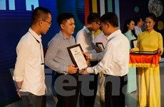 [Photo] Toàn cảnh lễ trao giải Báo chí Thông tấn xã Việt Nam năm 2019