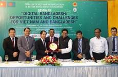 Việt Nam và Bangladesh đẩy mạnh hợp tác về công nghệ thông tin