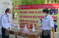 Các địa phương sẵn sàng ứng phó thiên tai, dịch bệnh trong kỳ thi THPT