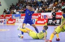 Kịch tính lượt về giải vô địch quốc gia Futsal HDBank 2020