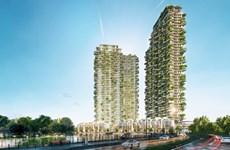Tập đoàn kiến trúc đẳng cấp thế giới thiết kế tháp biểu tượng Ecopark