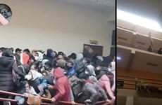 Bolivia: Chen lấn gãy lan can, ít nhất 7 sinh viên thiệt mạng