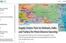 Báo Mỹ: Việt Nam trong top 3 điểm đến hàng đầu về tìm kiếm nguồn cung