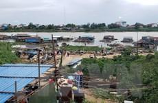Campuchia: Người gốc Việt chấp hành di dời nhà nổi tại sông Phnom Penh