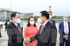Chủ tịch Quốc hội Vương Đình Huệ lên đường tham dự WCSP5