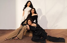 [Photo] Top 3 Hoa hậu Việt Nam 2018 đẹp rạng ngời sau 1 năm đăng quang