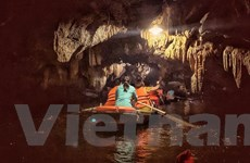 [Photo] Vẻ đẹp độc đáo trong lòng hang động danh thắng Tràng An