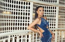 Hoa hậu Khánh Vân cùng Á hậu Kim duyên đọ dáng, ''khoe'' chân dài
