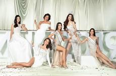 [Photo] Dàn người đẹp Hoa hậu Hoàn vũ Việt Nam cùng khoe sắc Xuân mới