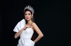 [Photo] Hoa hậu Khánh Vân siêu gợi cảm sau 2 tháng đăng quang