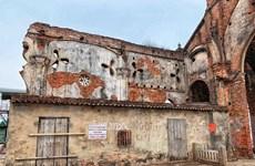 [Photo] Những dấu tích còn sót lại của 'nhà thờ đổ' đất thành Nam