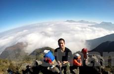 [Photo] Những bữa ăn đặc biệt trên đường leo núi của dân 'trekking'