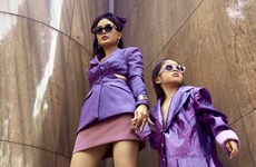 Phong cách thời trang đường phố cực sành điệu cho mẹ và bé