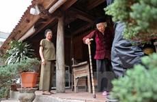[Photo] Cuộc sống êm đềm hiếm có dưới những mái nhà cổ Đường Lâm