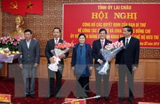 Ông Trần Tiến Dũng giữ chức Phó Bí thư Tỉnh ủy Lai Châu
