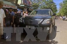 Xe Lexus lao vào đám tang làm 2 người chết, nhiều người bị thương