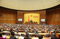 Những hình ảnh tại phiên khai mạc Kỳ họp thứ 7 Quốc hội khóa XIV