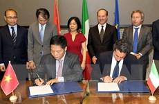 Việt Nam và Italy tăng cường quan hệ hợp tác kinh tế, thương mại