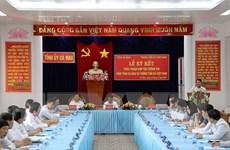 Hình ảnh buổi ký kết hợp tác thông tin giữa UBND tỉnh Cà Mau và TTXVN