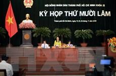 HĐND Thành phố Hồ Chí Minh khóa IX thông qua 22 nghị quyết
