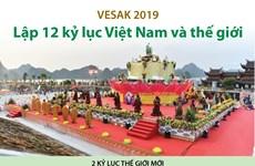 [Infographics] 12 kỷ lục được xác lập tại Đại lễ Vesak 2019