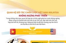 Quan hệ Đối tác chiến lược Việt Nam-Malaysia không ngừng phát triển