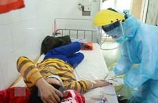 [Photo] Những chiến sỹ nơi tuyến đầu chống dịch COVID-19 ở Bình Xuyên
