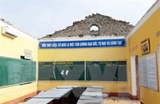 Thái Nguyên: Mưa dông gây nhiều thiệt hại, một số trường phải nghỉ học
