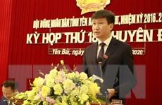 Ông Trần Huy Tuấn được bầu là Chủ tịch Ủy ban Nhân dân tỉnh Yên Bái