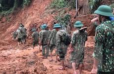 Lở đất tại Quảng Trị: Lực lượng cứu hộ tại chỗ đã tiếp cận hiện trường