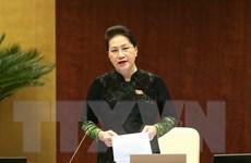 [Photo] Quốc hội bắt đầu phiên chất vấn và trả lời chất vấn