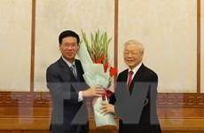 Bộ Chính trị phân công ông Võ Văn Thưởng làm Thường trực Ban Bí thư
