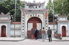 Hưng Yên tạm đóng cửa Khu di tích quốc gia đặc biệt Phố Hiến