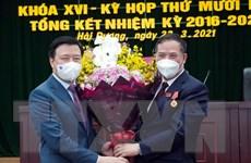 Ông Phạm Xuân Thăng được bầu giữ chức Chủ tịch HĐND tỉnh Hải Dương