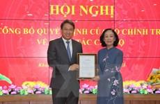 Ông Nguyễn Hải Ninh được điều động giữ chức Bí thư Tỉnh ủy Khánh Hòa
