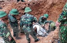 Vĩnh Phúc: Di dời thành công quả bom nặng 340kg ra khỏi khu dân cư
