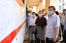 Bộ trưởng Công an Tô Lâm tiếp xúc cử tri, vận động bầu cử tại Hưng Yên