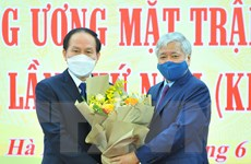 Ông Lê Tiến Châu giữ chức Phó Chủ tịch-Tổng Thư ký Ủy ban MTTQ