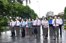 Dâng hương tưởng niệm 109 năm ngày sinh Tổng Bí thư Nguyễn Văn Cừ