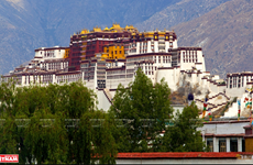 [Photo] Khám phá sự linh thiêng, huyền bí của thành phố Lhasha
