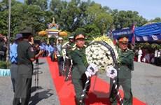 Hồi hương hài cốt liệt sỹ quân tình nguyện hy sinh tại Campuchia