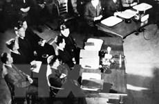 [Photo] Quá trình đàm phán và ký kết Hiệp định Genève năm 1954