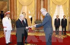 [Photo] Tổng Bí thư, Chủ tịch nước tiếp các Đại sứ trình Quốc thư