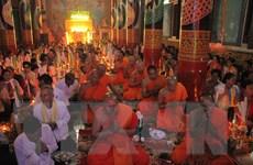 [Photo] Đồng bào Khmer Sóc Trăng đón mừng lễ Sene Dolta