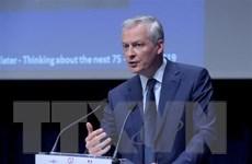 Pháp, Đức nhất trí chiến lược chung đối phó kinh tế toàn cầu giảm tốc