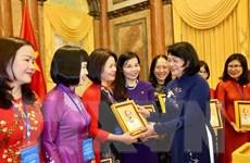 'Phụ nữ ngành giáo dục có vai trò quan trọng trong công cuộc đổi mới'