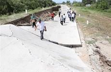 Nhiều diễn biến phức tạp về tình trạng hạn, mặn khốc liệt tại Cà Mau