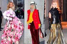 Celine Dion biến đường phố New York thành sàn catwalk của riêng mình