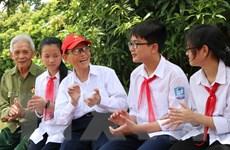 [Photo] Thiếu niên, nhi đồng Việt Nam tự hào tiếp bước cha anh