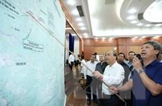 [Photo] Thủ tướng làm việc với Quảng Nam về khắc phục hậu quả bão số 9